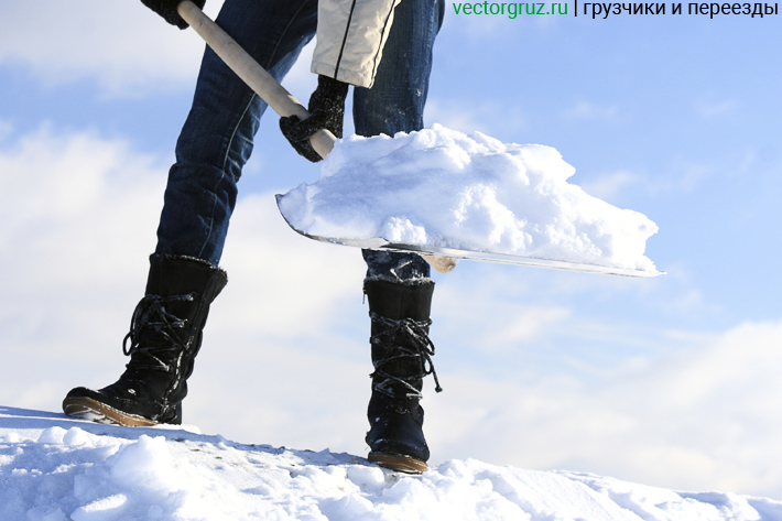 Очистка снега с крыши расценки
